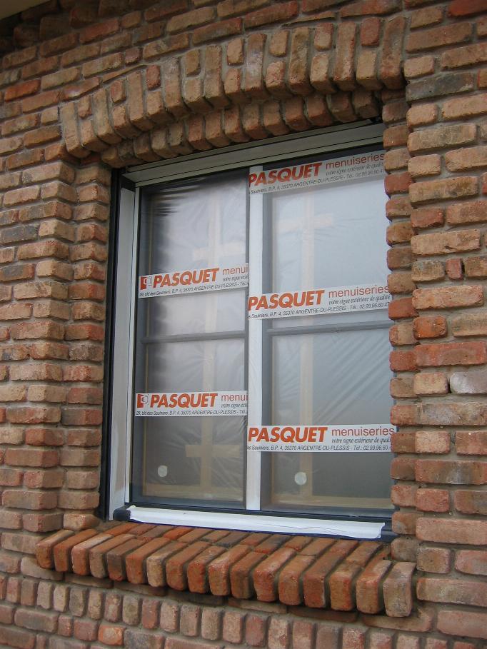 Appuis de fenetres en briques ferraillage ou pas 8 messages - Appui de fenetre brique ...