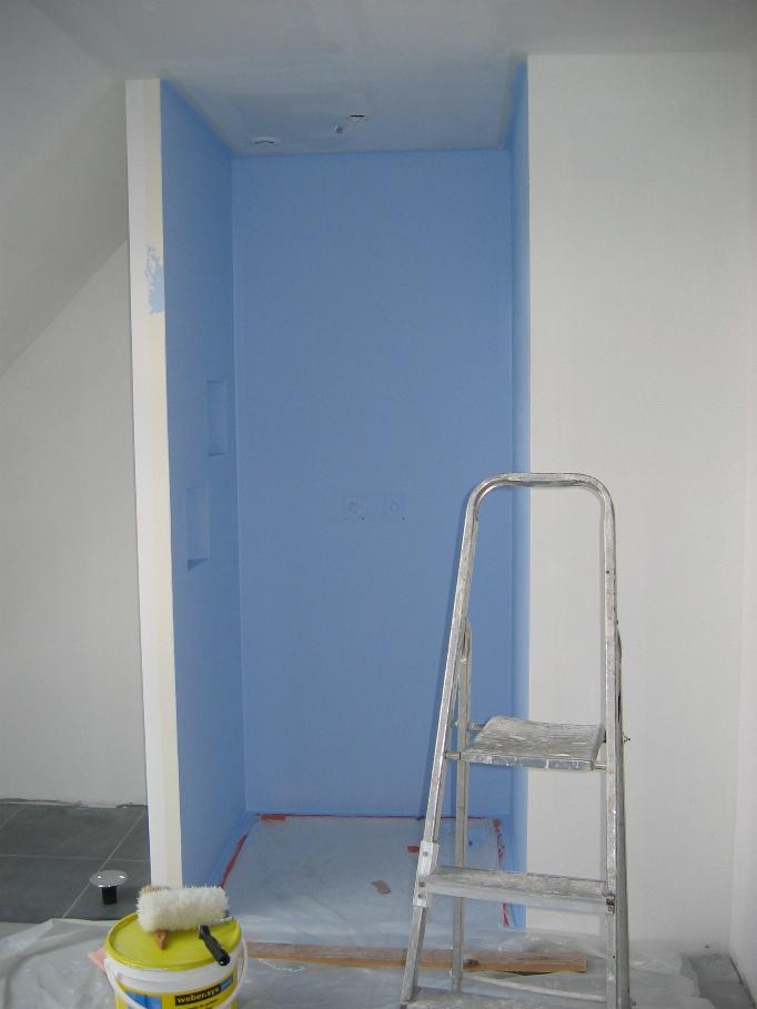 Idee salle de bain placo hydrofuge salle de bain for Pose placo hydrofuge salle de bain