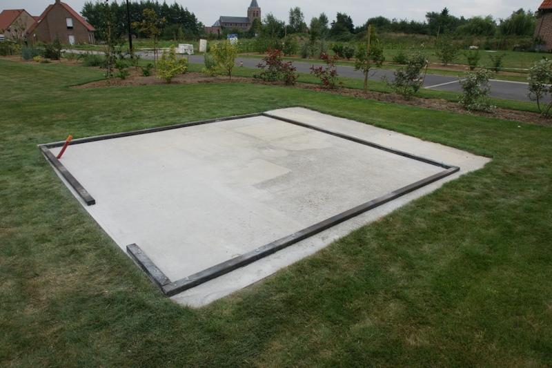 Isoler abris de jardin d 39 une dalle beton 14 messages - Epaisseur d une dalle beton ...